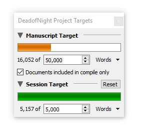 Dead of Night word count