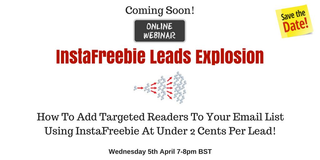 InstaFreebie Leads Explosion