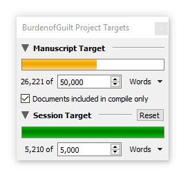 Burden of Guilt word count