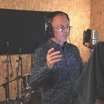 Mike Bodnar in the studio