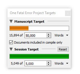One Fatal Error 15k words