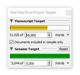 One Fatal Error progress