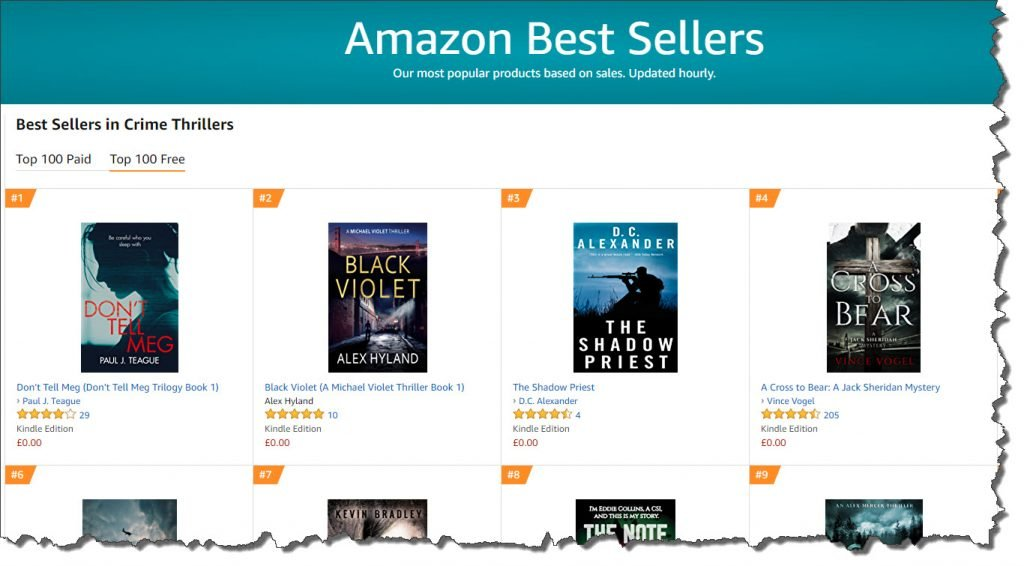 Number 1 in free Crime Thrillers