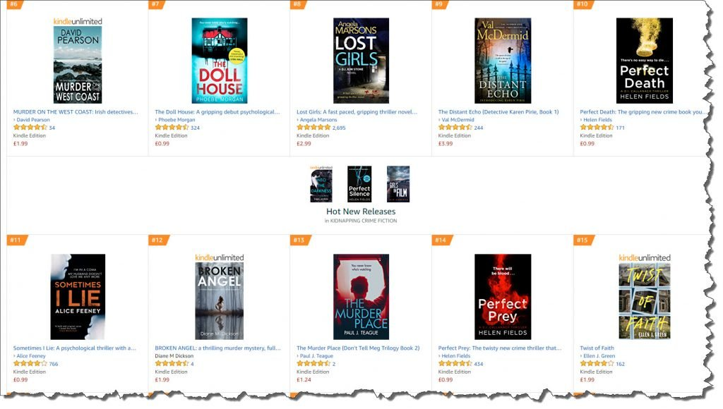 Number 13 in PAID books!
