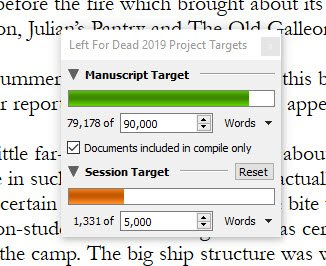 Author notes word count