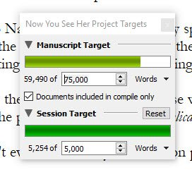 55k writing progress