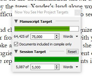 60k writing progress