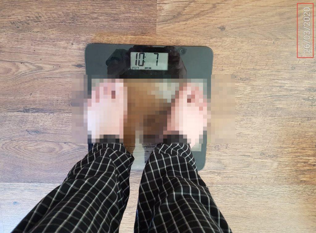 Weight at 55